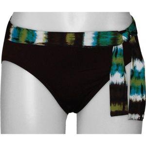 NWT Tommy Bahama 2Dye4 High Waist Tie Bottom #260